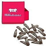 HAARallerliebst Haarspangen klein inkl. Schachtel zur Aufbewahrung