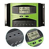 Solarladeregler MOHOO 30A 48V Laderegler LCD Display Ueberlastschutz und Kurzschlussschutz