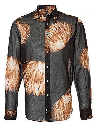 gianfranco-ferre-messieurs-chemise-daffaires-noir-43-xl