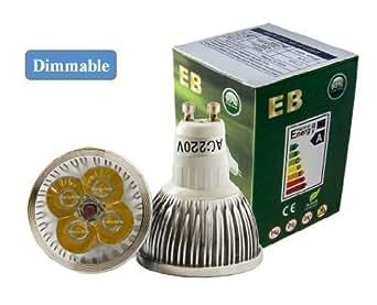 energybrite 4w dimmable gu10 led ampoule 380 lumens blanc chaud 3200k quivalent 50w offres. Black Bedroom Furniture Sets. Home Design Ideas