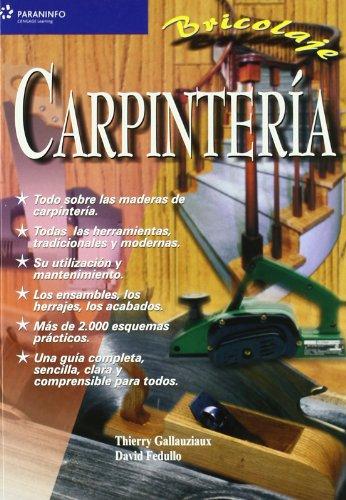 Descargar Libro Carpintería. Bricolaje de THIERRY GALLAUZIAUX