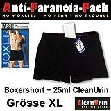 CleanUrin Anti-Paranoia-Set Spezial-Unterhose Gr. XL + 25ml Clean Urin künstliches Urin synthetisches sauberes Urin