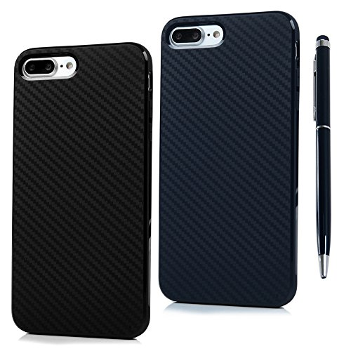 iphone-7-plus-case-carbon-fiber-line-designed-premium-tpu-silicone-case-cover-2-pieces-ultra-thin-sl