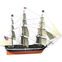 Billing Boats Barcos de facturación 1: 100 Kit Escala USS Constitution Edificio Modelo