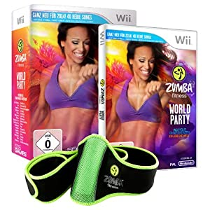 Zumba Fitness World Party (inkl. Fitness – gürtel) – [Nintendo Wii]