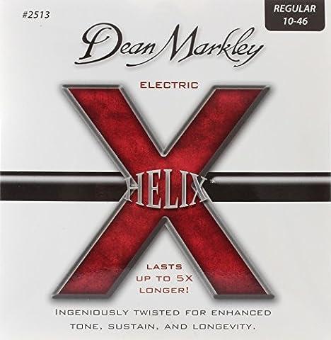 Dean Markley 2513 Helix HD Saiten für E-Gitarren .010-.046 Regular