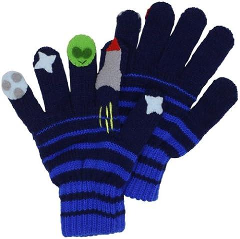 Kidorable Original Gebrandmarkt Weltraum Handschuhe für Mädchen, Jungen, Kinder - Klein