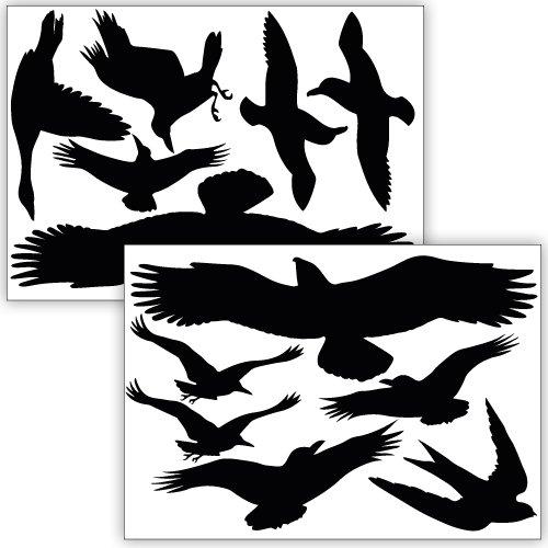 vogelschutz aufkleber gebraucht kaufen nur 3 st bis 65 g nstiger. Black Bedroom Furniture Sets. Home Design Ideas