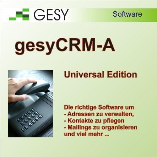 moreCRM-A Universal Edition - CRM-System, Adressverwaltung, Kontakt-Management, Mailings