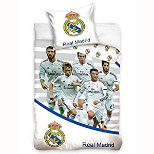 Real Madrid CF stars Ronaldo Bale simple housse de couette et taies d'oreiller