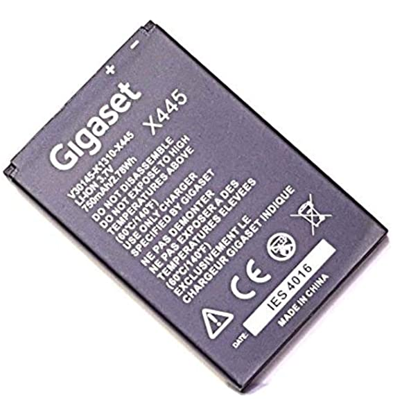 Gigaset Sl400 Sl400h Sl350 Sl350h Sl610 Pro Sl4 Pro Sl5h Sl450 Sl450h Sl750 Sl750h Original Akku