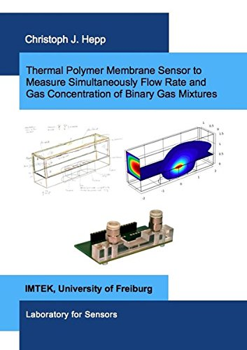 Thermal Polymer Membrane Sensor to Measure Simultaneously Flow Rate and Gas Concentration of Binary Gas Mixtures (Mikrosystemtechnik) -
