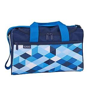 herlitz 50021918 Sporttasche Blue Cubes