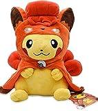 hokkk 12 '30 Cm 2 Estilos Alola Vulpix Cosplay Pikachu Peluche Peluche Muñecas Lindas Peluches Suaves para Niños 30CM Vulpix Pikachu