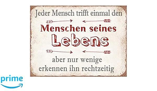 Spruch Blechschild Metallschild DAS IST KEINE UNORDNUNG vintage 26x35 cm