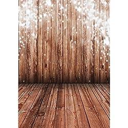 1,5m * 2,2m Telón de fondo para Fotografía Estudio Fotos Varios Colores y Patrones - Pared de madera