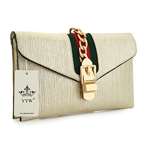 SSMK Evening Bag, Poschette giorno donna Gold