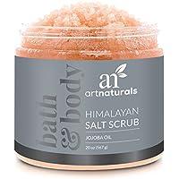 ArtNaturals Himalaya-Salz Körper-Peeling Scrub - (20 oz / 567 g) - Tiefenreinigung und Exfoliation mit Sheabutter und Jojobaöl