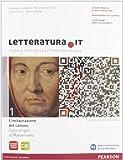 Letteratura.it. Con fascicolo. Ediz. gialla. Per le Scuole superiori. Con espansione online: 1