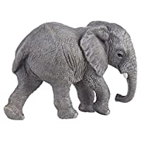 Papo 50169 Young African elephant WILD ANIMAL KINGDOM Figurine, Multicolour