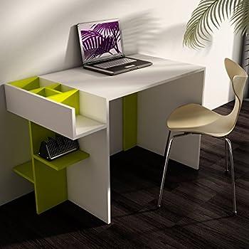 Elenore scrivania bianco verde scrivania da ufficio - Scrivania design moderno ...