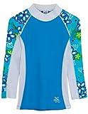 Tuga SHORELINE UV-Shirt - Langarm, Aquamarine, Gr. 2-3 Jahre