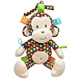 Happy cherry - Juguetes Colgantes decorativos para Cuna Cochecito bebés niños niñas - Mono