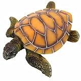 Finto acquario acqua simulazione tartaruga ornamento Fish Tank Decor Tool non tossico-giallo