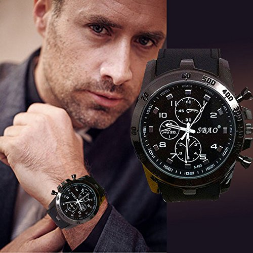 Kycut Herrenuhr Edelstahl Luxus Sport Analog Quarz Moderne Herren Mode Armbanduhr