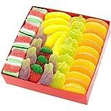 """Caja Regalo """"Tutti Frutti"""", con dos (2) capas de Chuches y Marshmallows: 76 golosinas, 500 gr."""