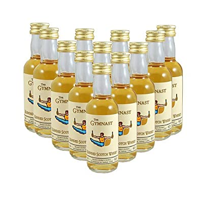 The Gymnast Scotch Whisky 5cl Miniature - 12 Pack from Just Miniatures
