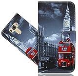 ASUS Zenfone 3 Laser ZC551KL 5.5 Inch Coque, FoneExpert Etui Housse Coque en Cuir Portefeuille Wallet Case Cover Pour ASUS Zenfone 3 Laser ZC551KL 5.5 Inch