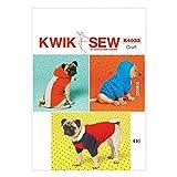 Kwik Sew einfaches Schnittmuster 4033 für Hundemäntel