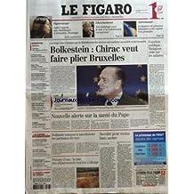 FIGARO (LE) [No 18858] du 23/03/2005 - FIGAROSCOPE - SOFIA COPPOLA, UNE AMERICAINE A VERSAILLES - CHEVENEMENT - SON PLAIDOYER POUR LE NON A LA CONSTITUTION EUROPEENNE - ASTRONOMIE - LA LUMIERE DE PLANETES LOINTAINES A ETE CAPTEE. UNE PREMIERE - L'EUROPE DES RAPPORTS DE FORCES PAR PIERRE ROUSSELIN - LES PALESTINIENS CONTROLENT TULKAREM - ETATS-UNIS - CARNAGE A L'ECOLE - DES LYCEENS BLOQUENT LEURS ETABLISSEMENTS - SECTES - LES ENTREPRISES EXPOSEES A LEUR INFILTRATION - GOLF - DES PARCOURS POUR LE