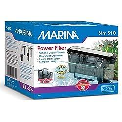Marina Filtre d'Eau S10 Net pour Aquarium jusqu'à 38 L
