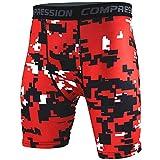 ZhuiKun Cuissard De Compression - Short Jogging - Pantalon De Jogging Homme XL