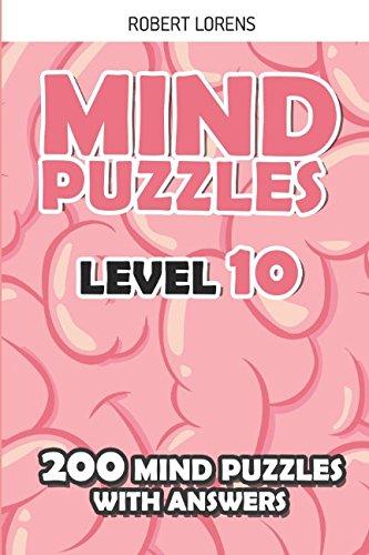 Mind Puzzles Level 10: ShakaShaka Puzzles - 200 Brain Puzzles with Answers