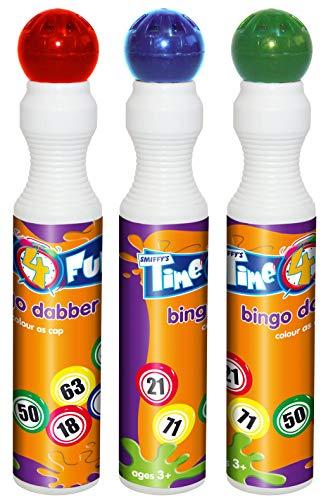 Smiffys Bingo Dabber, sortierte Farben, 43ml, ()