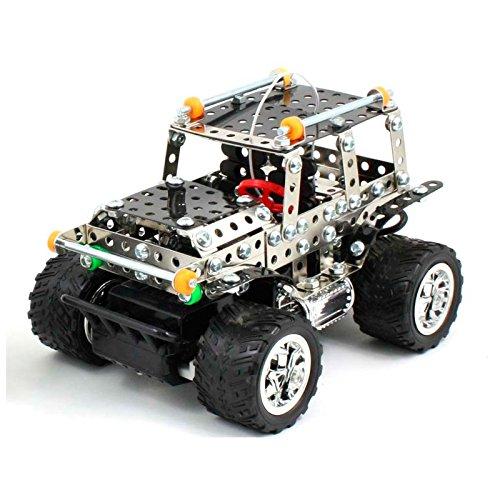 Coche-Jeep-Rc-para-Montar-306-Piezas-DIY-Kit-de-Construccin-Robtica-Juguetes-para-Nios