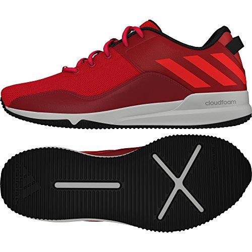 adidas Crazymove CF M, Scarpe Sportive Uomo Rosso (Rojo (Rojray / Rojsol / Negbas))
