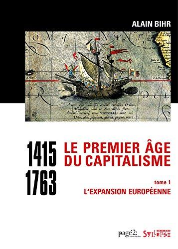Livre Pdf Téléchargement Le Premier âge Du Capitalisme 1415 1763