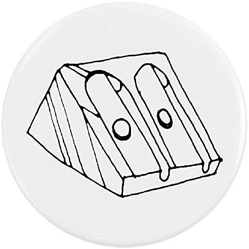 Azeeda 58mm 'Pencil Sharpener' Medium Button Pin Badge (BB00010214)