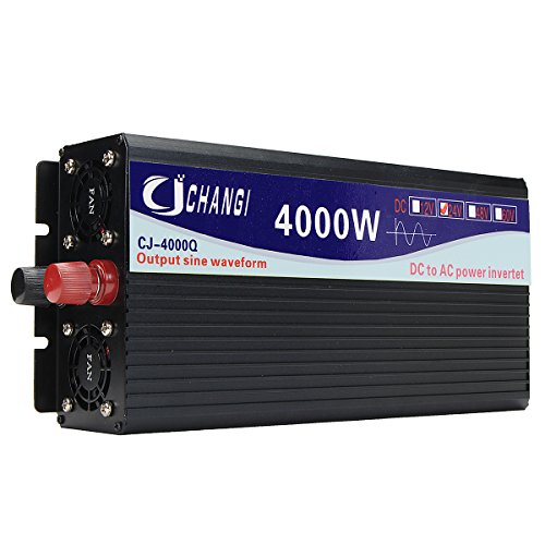 Tutoy Intelligent Screen Pure Sinus Power Inverter 12V/24V Bis 220V 3000W/4000W/5000W/6000W Converter24V 4000W