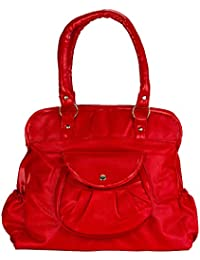 Fashion knockout Red Front Pocket Purse