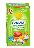 Bebivita Früchte-Trio & Karotte, 4er Pack (4 x 90 g)