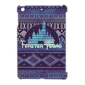 Custom Wonderland Forever Young Disney Inspired Hard Case for iPad Mini