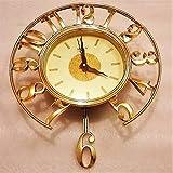 #3: Very attractive long 6 Milan Wall Clock