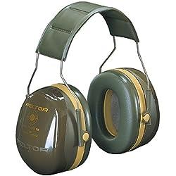 Casque antibruit 3M™ PELTOR™ Bull's Eye™ III, référence H540A-441-GN