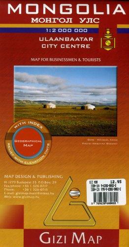 Mongolia por Gizi Map