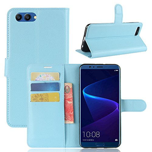 Huawei Honor V10 Durable Protective Case Protective skin Casefirst Protective Skin Double Layer Bumper Shell Shockproof Impact Defender Protective Case Durable Protective Case for Huawei Honor V10 , Blue (Wi Facetime)